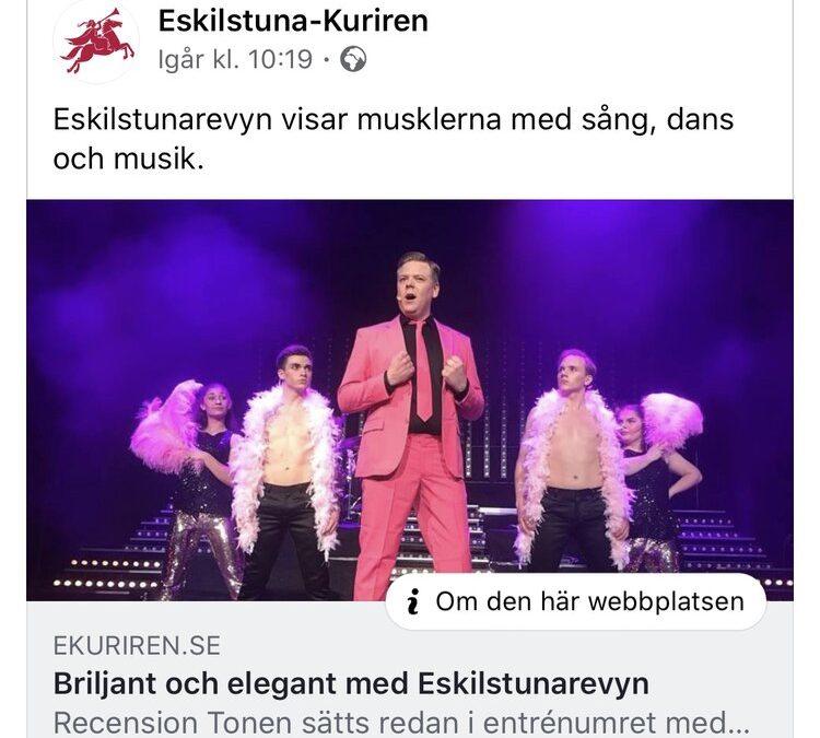 STRÅLANDE RECENSION FÖR REVY 2020!!!
